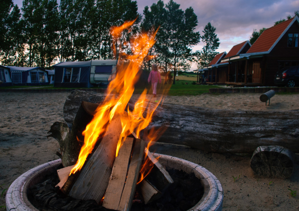 om salling camping bålsted hos salling camping