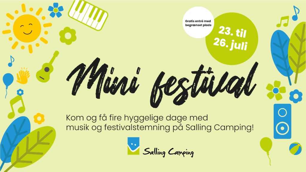 Minifestival Salling Camping 2020